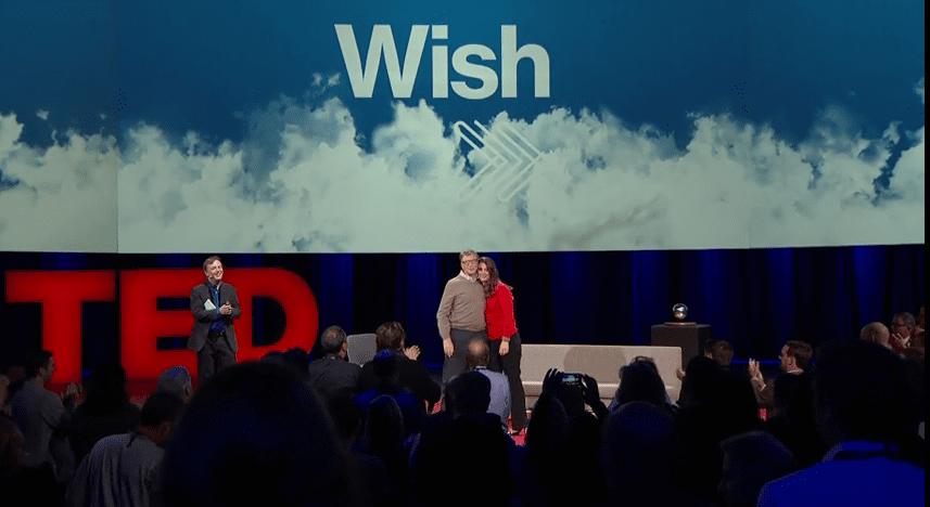 (取自 TED 影片《 Bill and Melinda Gates:Why Giving away our wealth has been the most satisfying thing we've done ?》)