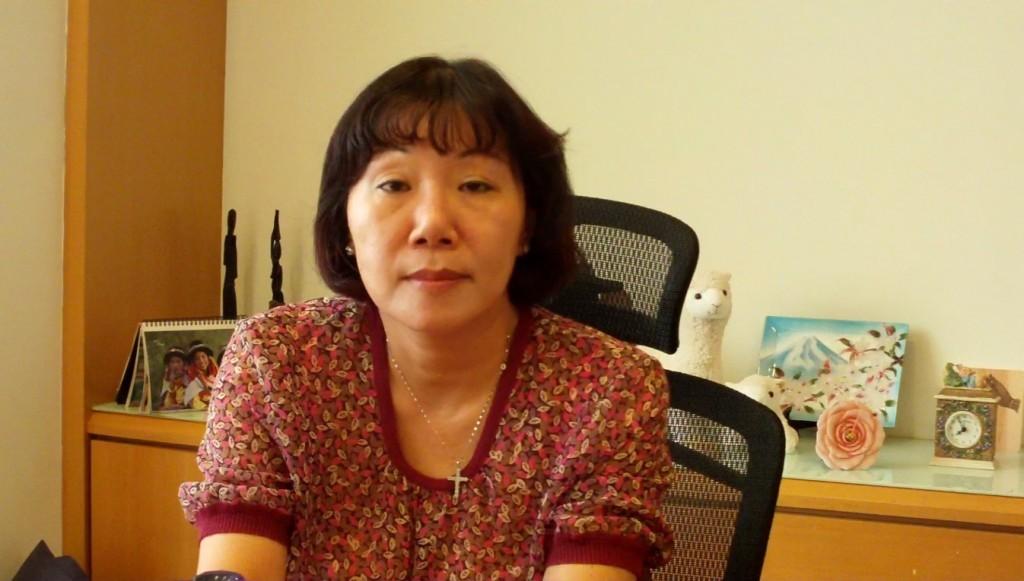 中華基督教救助協會副秘書長鄭夙珺女士