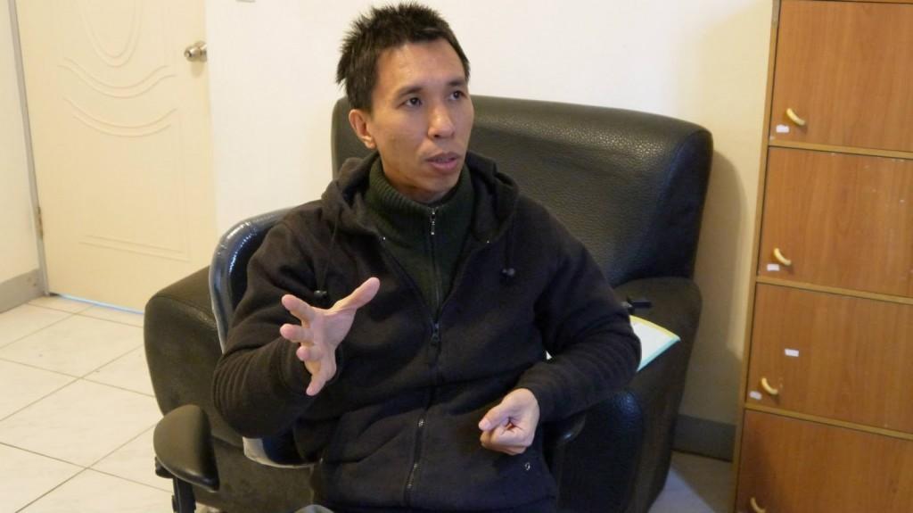 台灣寶希望樹兒童協會行銷企劃主任吳國光。
