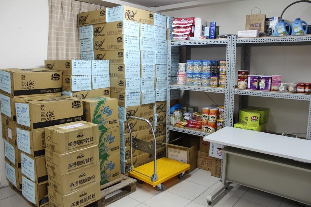 囤放食物的儲藏空間。