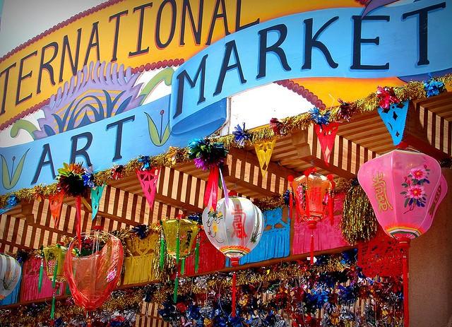 Santa Fe International Folk Art Market. (photo via Denise Womack-Avila@Flickr, cc License)