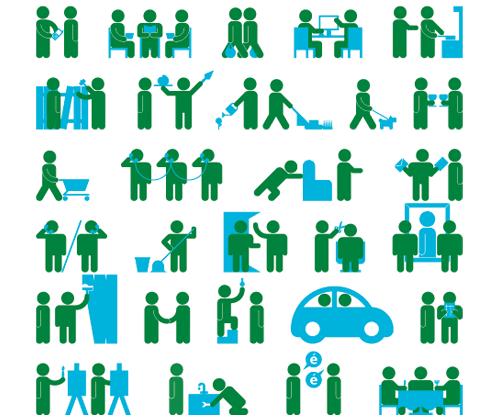 配合長輩需求的Circle服務項目圖示。圖片來源