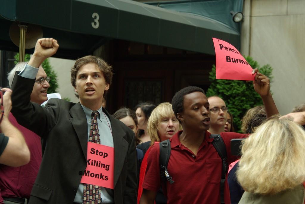 非政府組織的抗議行動