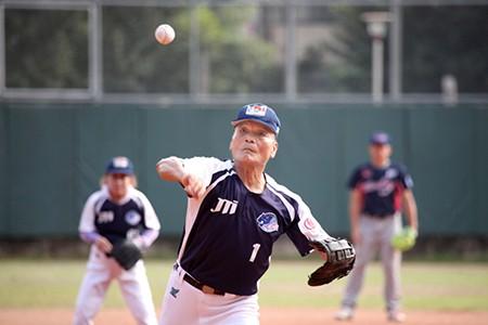 爺爺的棒球夢(圖片來源: