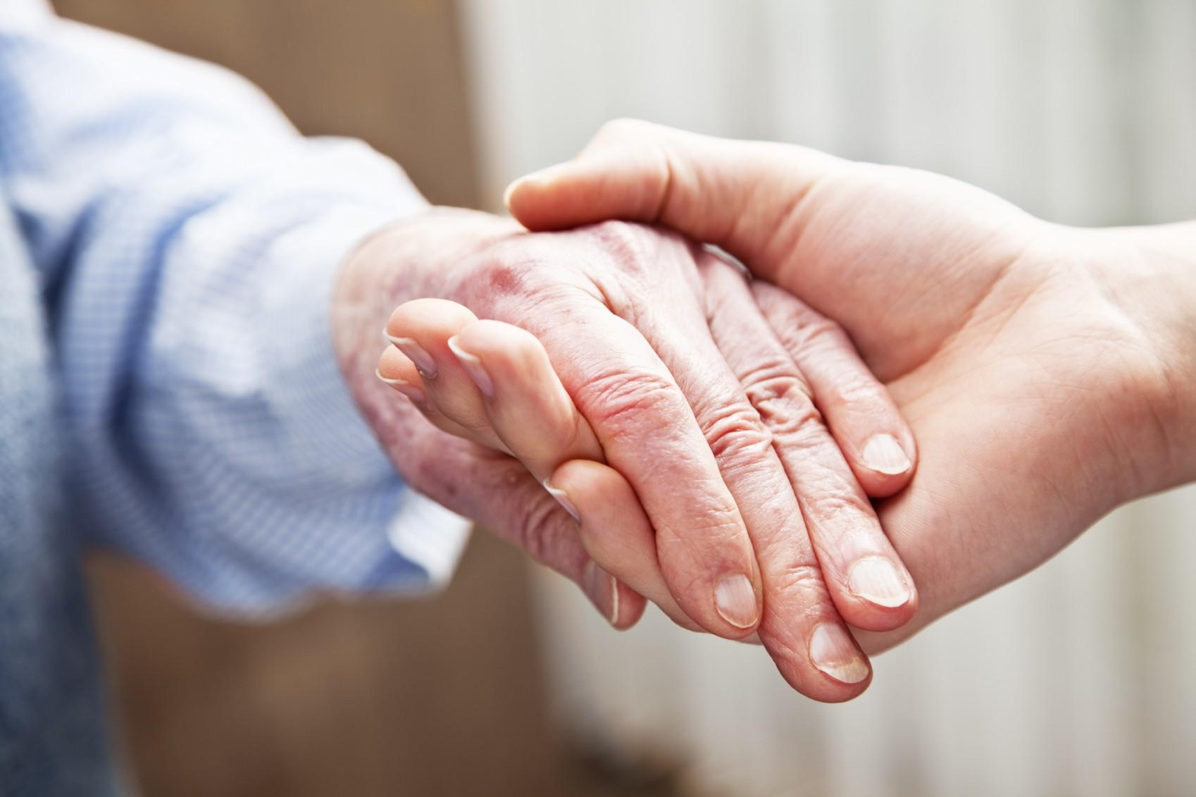 Providing In Home Care For Incontinent Elders (photo via Sutton In-Home Senior Care)