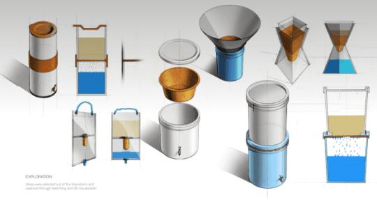 Drinkable Book將濾水紙製作成不同的原型。