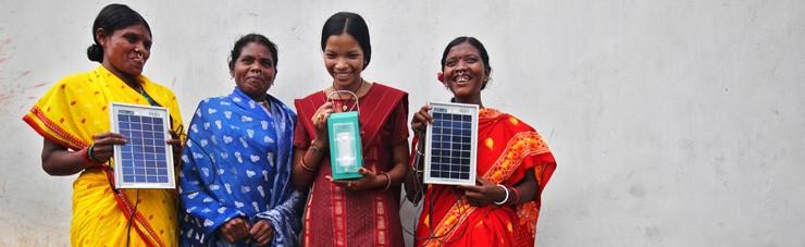 綠能物資支援。(Photo Via: International Finance Corporation of World Bank Group)