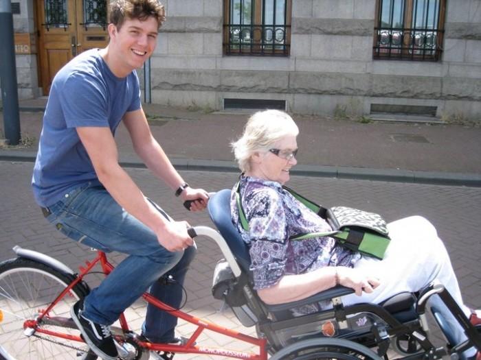 「技術不是問題,問題是你對障礙者的生活有沒有想像?」(Photo Credit:Accessible Travel)(荷蘭阿姆斯特丹的單車旅遊)