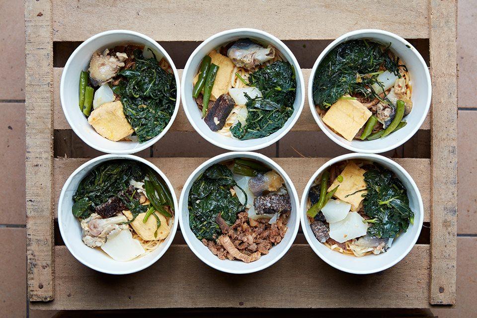 石頭湯計畫的食材與料理。(照片來源:石頭湯計畫相簿,照片提供: 劉信佑 / 以立均一& Lynn)