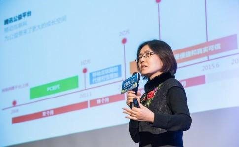 北京大學新聞與傳播學院教授師曾志在「變身吧!公益」的演講,分享網路支付的發達如何掀起中國線上捐款的趨勢。(攝影:MISC. 科學與人文記錄)