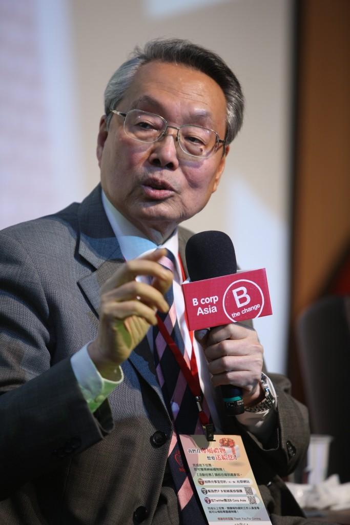宏碁電腦創辦人施振榮先生談王道精神與 B 型企業