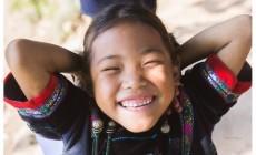 山區孩子最真摯的笑容