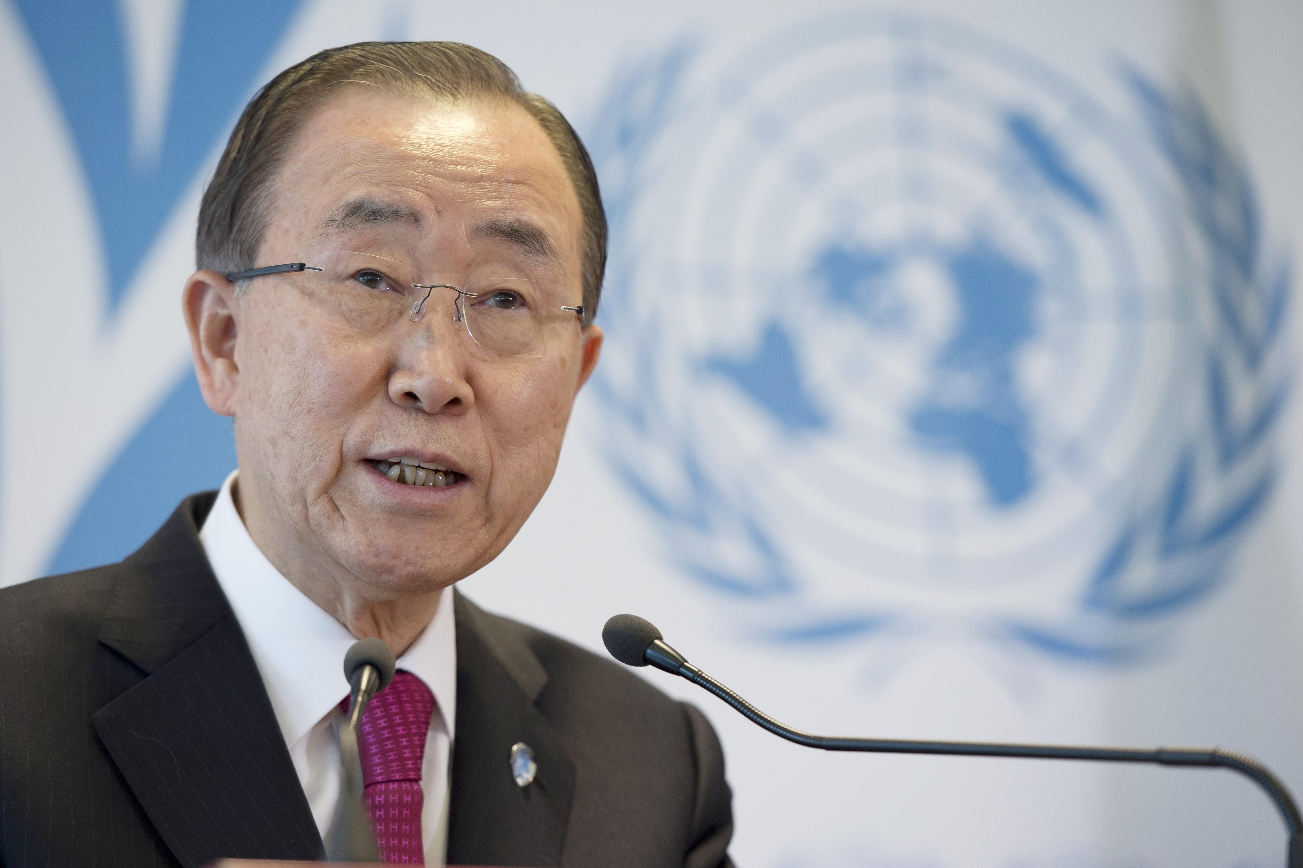 聯合國祕書長潘基文