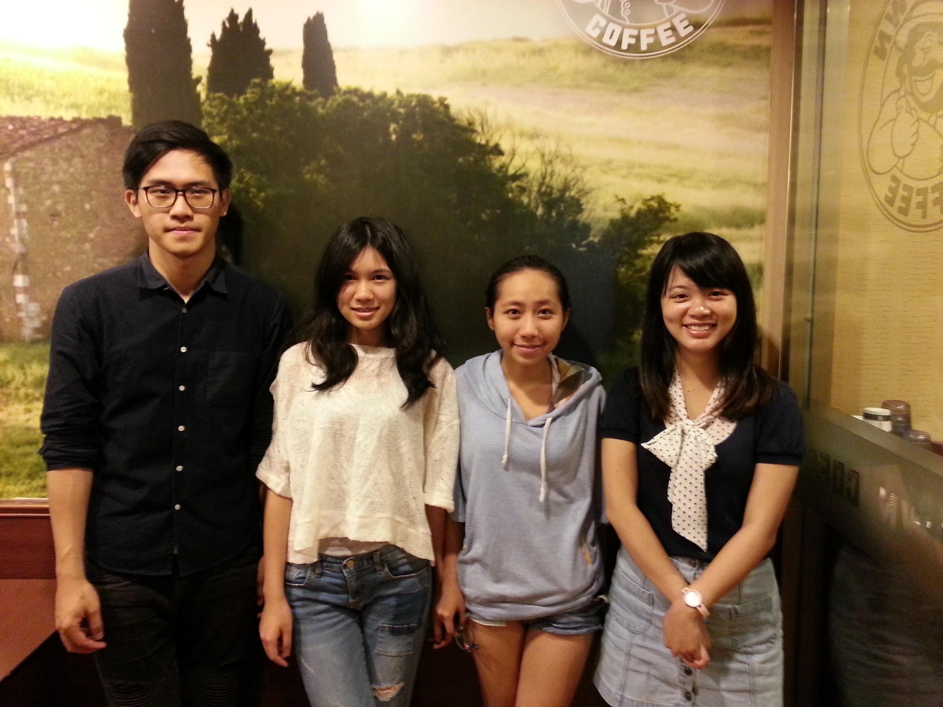 NPOst 專訪到創創團隊的四位成員詹耕輔、范詠晴、陳彥利、洪婉甄