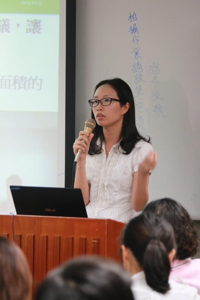 李寶琪於香港樂施會國際項目部,任職人道救援及災害管理項目幹事