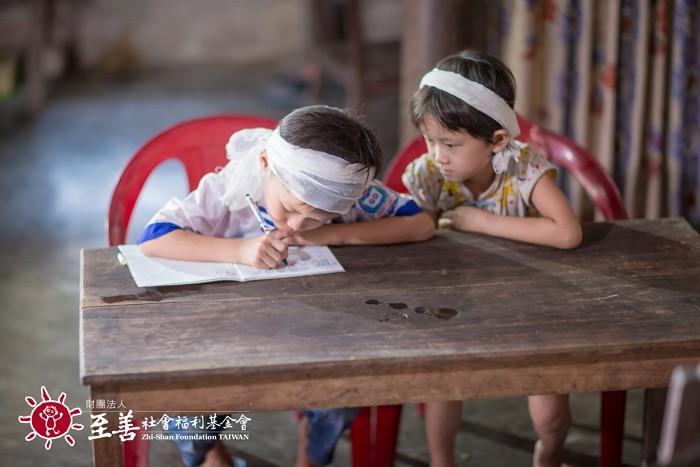 至善在越南建設幼教機構。圖片來源:至善社會福利基金會