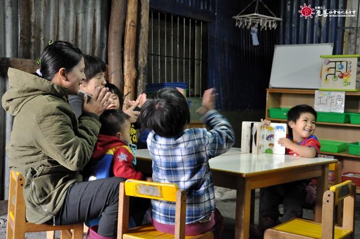 至善長期耕耘新竹偏鄉的原民部落,提供社區互助式照顧服務。圖片來源:至善社會福利基金會