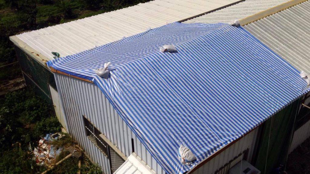 失智者協會,藉由設立烘培教室,讓身心障礙孩童學習製作糕點,獲得一技之長。但在風災過後,教室的鐵皮屋頂被完全吹飛,目前只能以帆布蓋住,勉強遮雨
