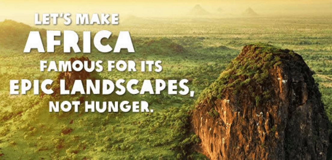 樂施會 2014 年「人人皆有食」計畫文宣