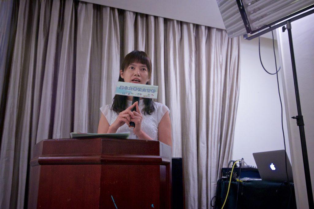 出身社會學博士卻投身再生能源的綠點能創共同創辦人陳惠萍