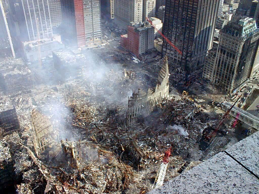 911 世貿中心現場