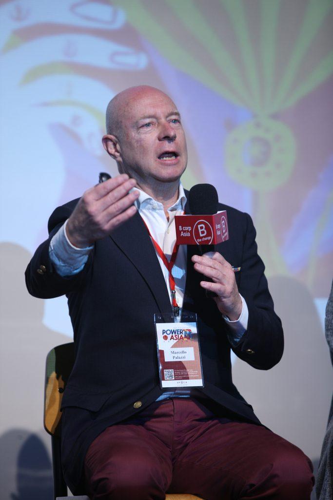 B Lab 歐洲代表 Marcello Palazzi