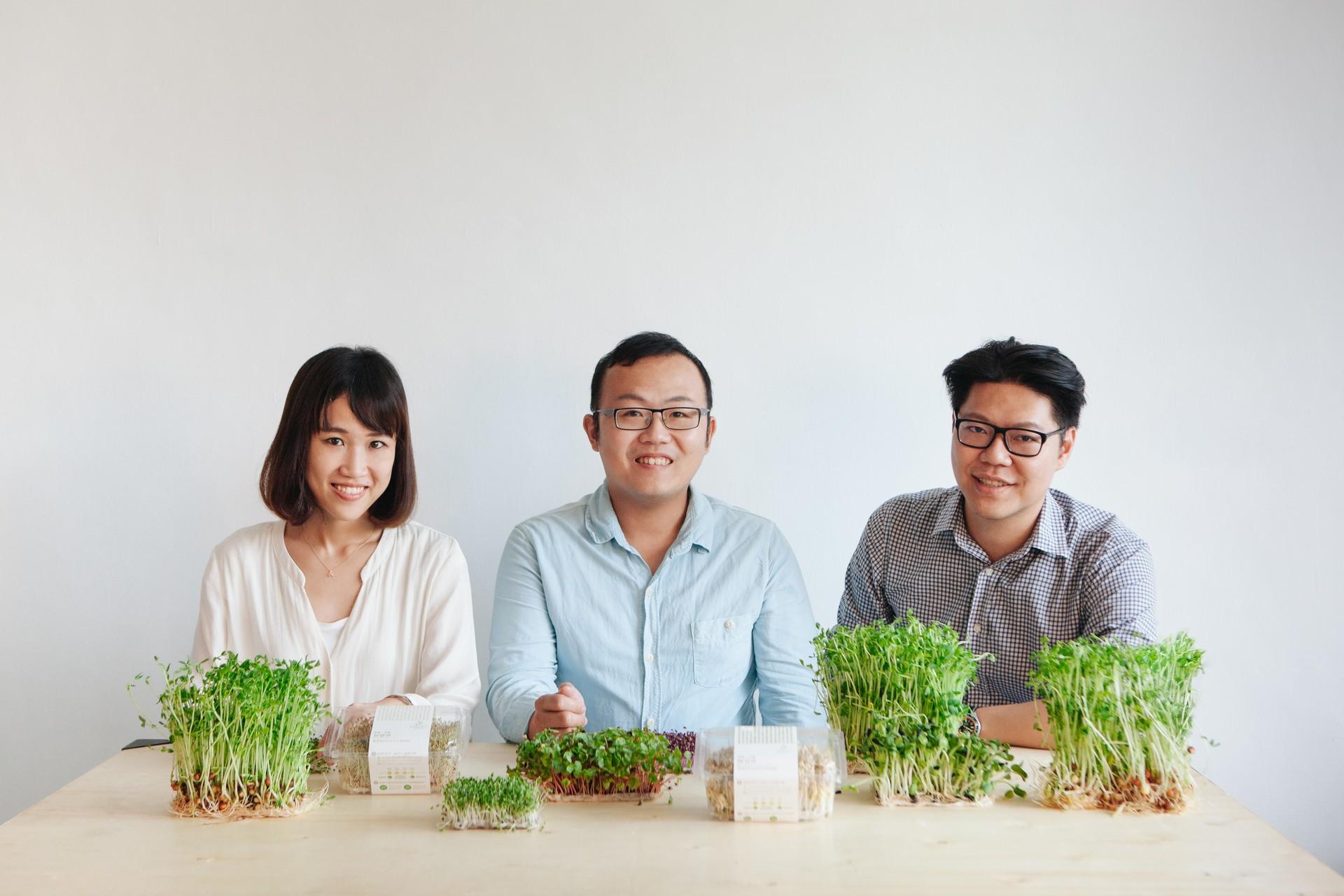 綠藤生機首創活的芽菜,營養密度更高