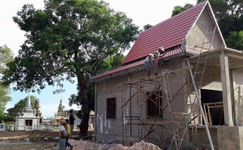 用樂高磚頭打造的希望之家