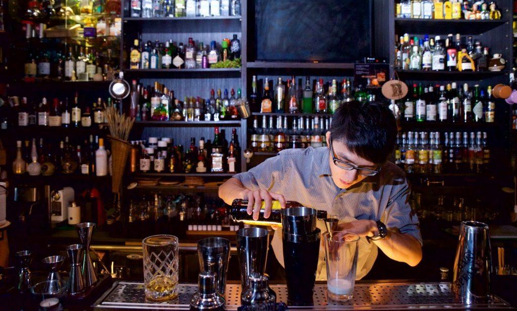 見域工作室採訪的新竹精釀酒吧。圖片來源:見域