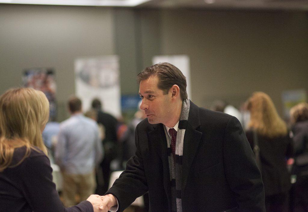 多數活動的意義,在於拓展人脈並互相交流,創造跨域聯結/圖片來源:COD Newsroom @ Flickr