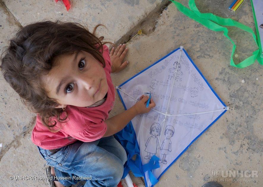圖片來源:「UNHCR, the UN Refugee Agency」粉絲團