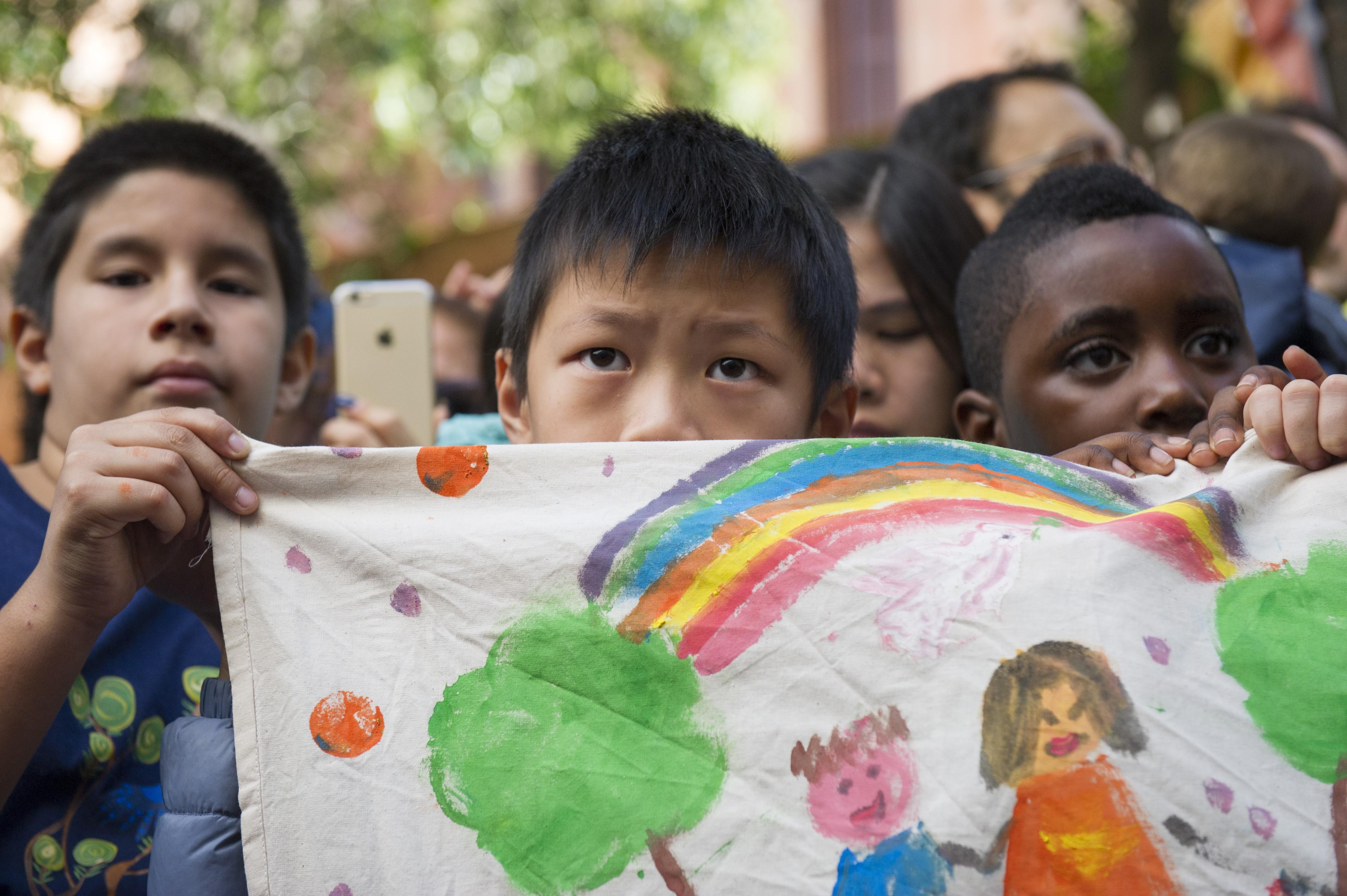 SG visits refugee Reception Centre Tenda di Abramo
