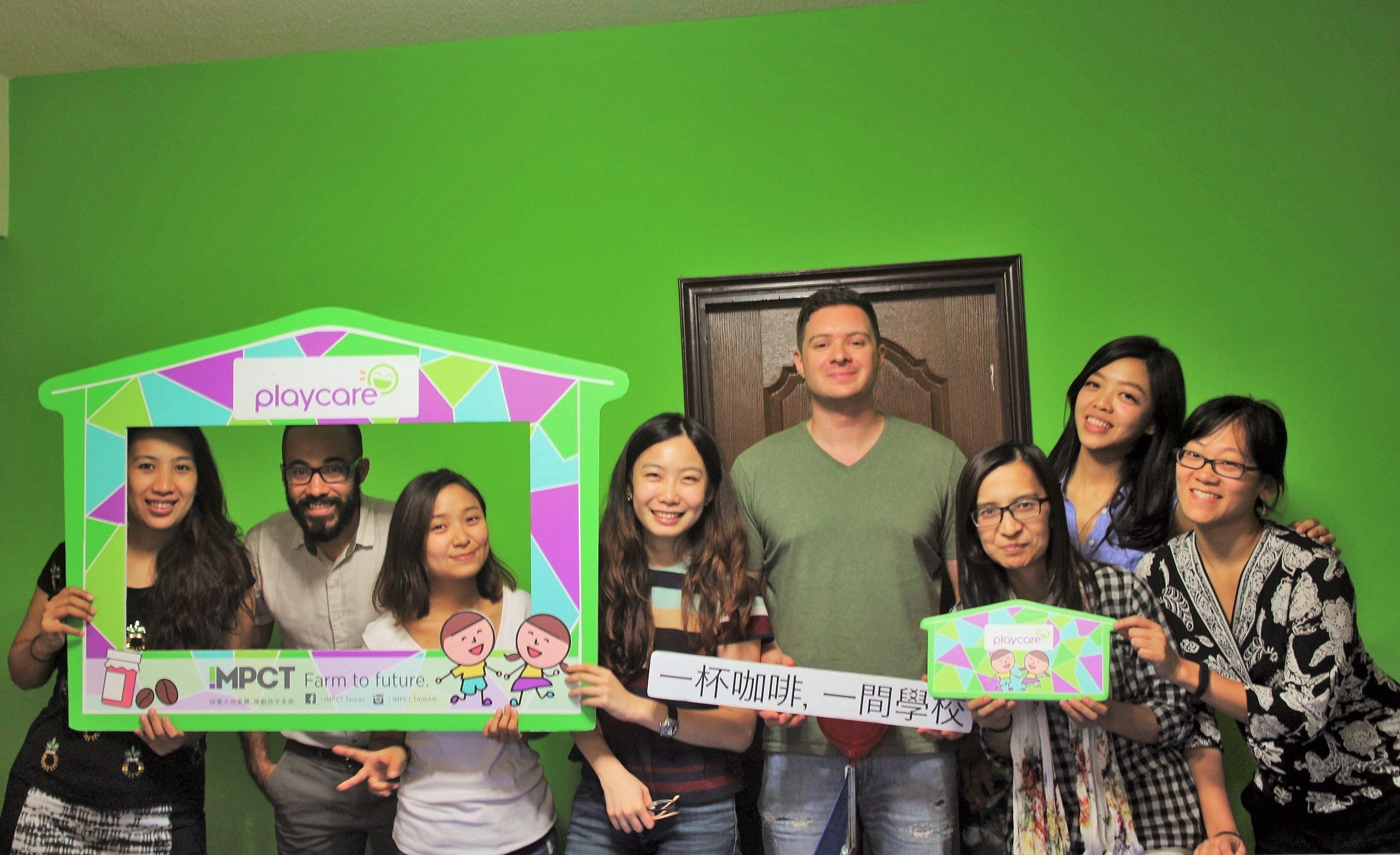 IMPCT 創辦人與員工合影於臺灣總部。圖/IMPC 提供