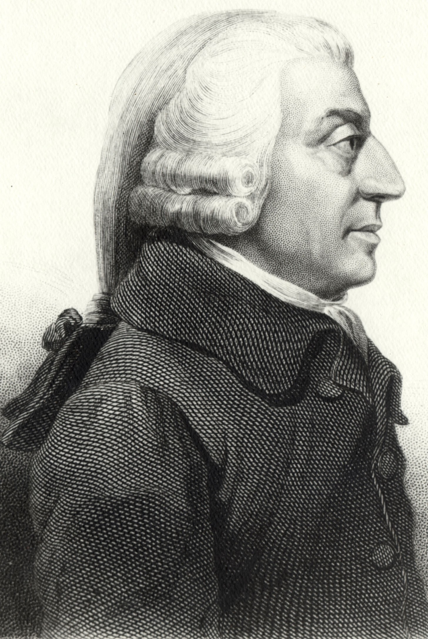 18 世紀蘇格蘭哲學家/經濟學家 Adam Smith