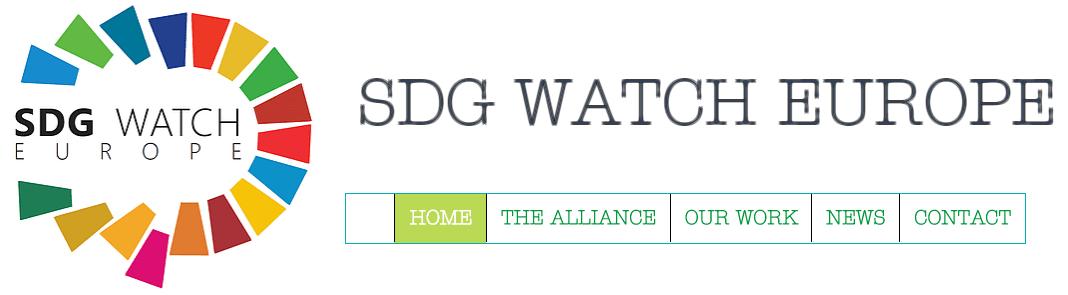 圖片來源:SDG WATCH EUROPE 官網截圖