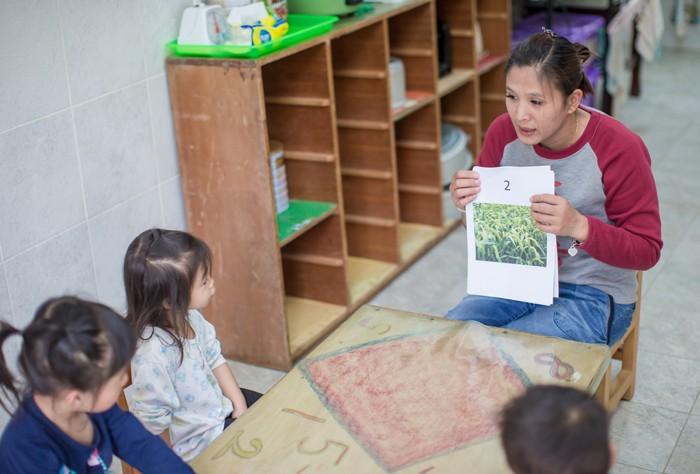 至善扶持的養老幼兒照顧中心/圖片來源:至善社會福利基金會官網