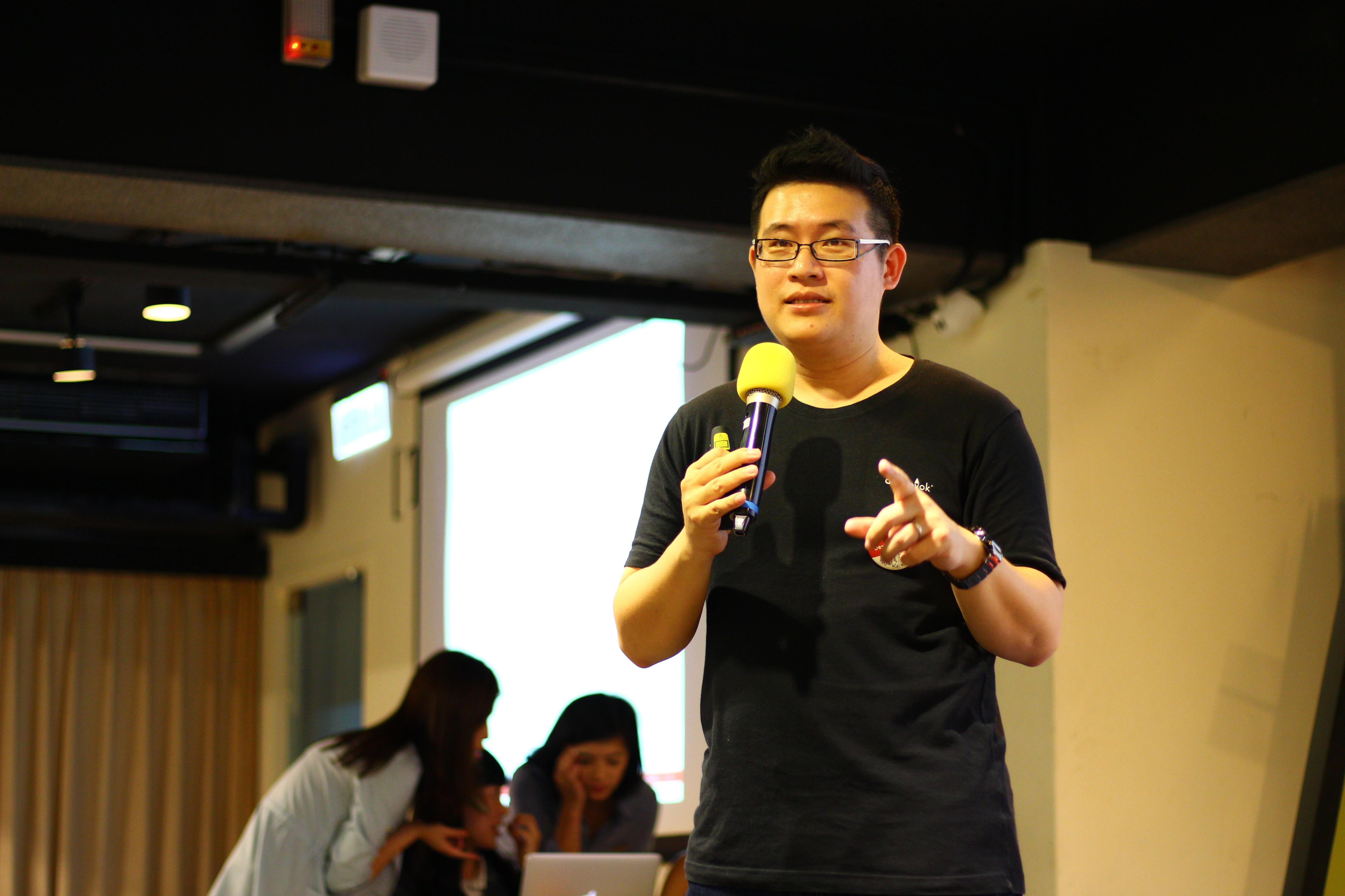 楊振甫從臺灣健保支出比率看到設計可以介入改善的地方/圖片來源:5% Design Action 社會設計平臺提供