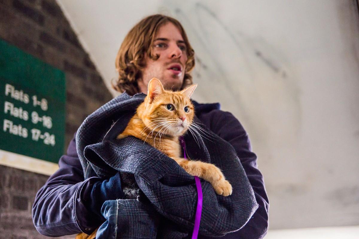 Luke Treadaway & Bob- A Street Cat Named Bob, Hackney DeBeauvior