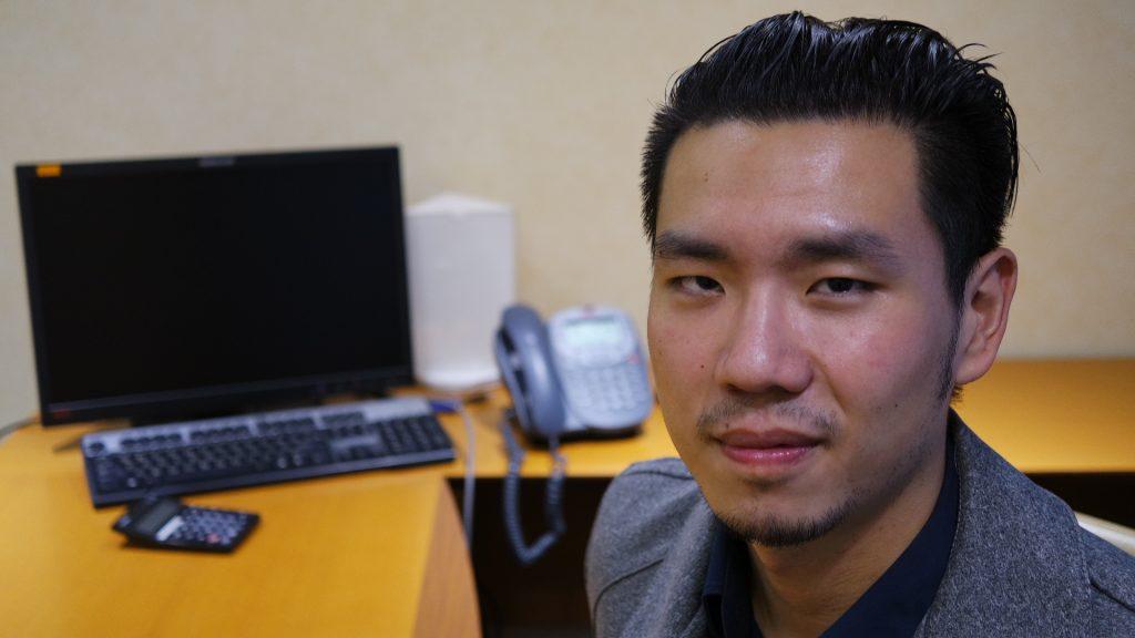 七年級的胡博瑋期許透過公益回饋社會,透過一日義工也更懂得惜福/圖片來源:王景新拍攝