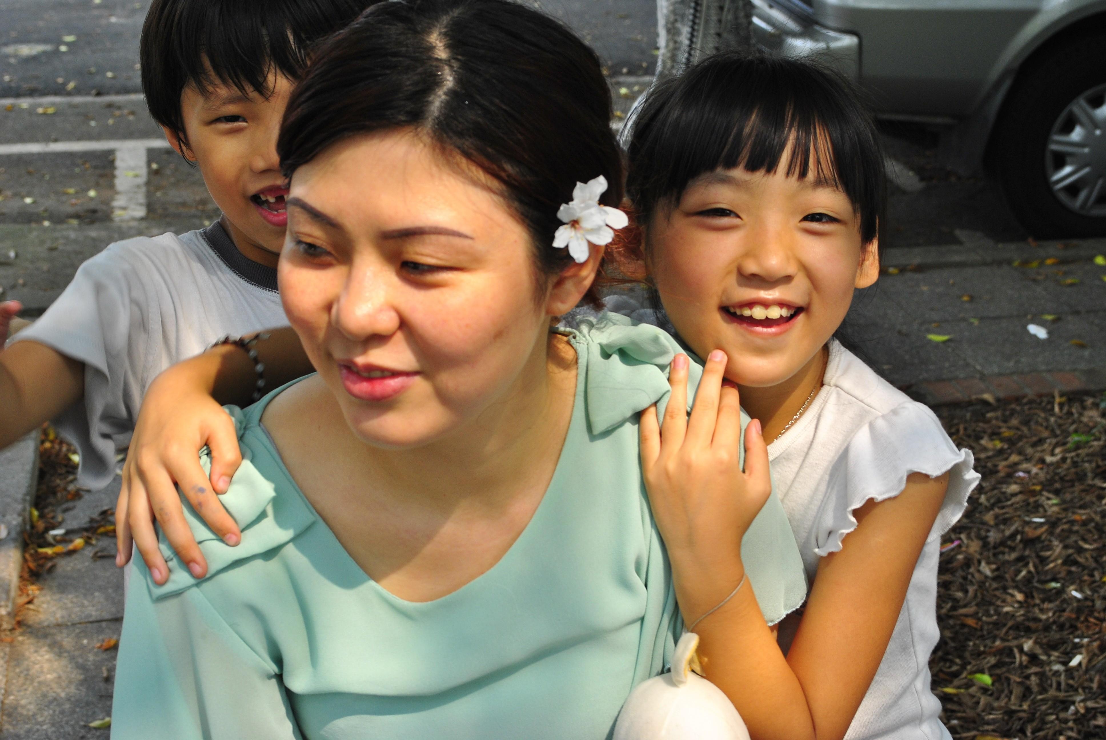 滿枝與女兒/圖:時報文化提供