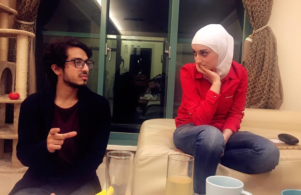 來自大馬士革的敘利亞大學生